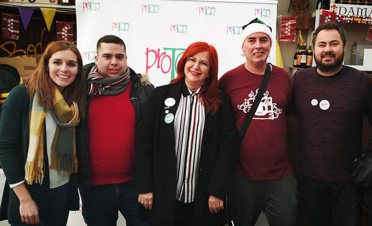 Cocido solidario elaborado por Peña el Churri Móstoles
