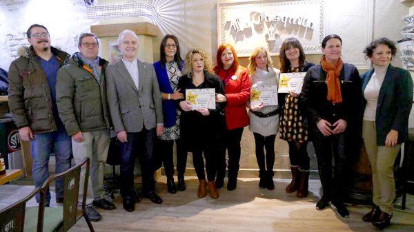 Entrega de premios de la VIII ruta de escaparates navideños de Móstoles